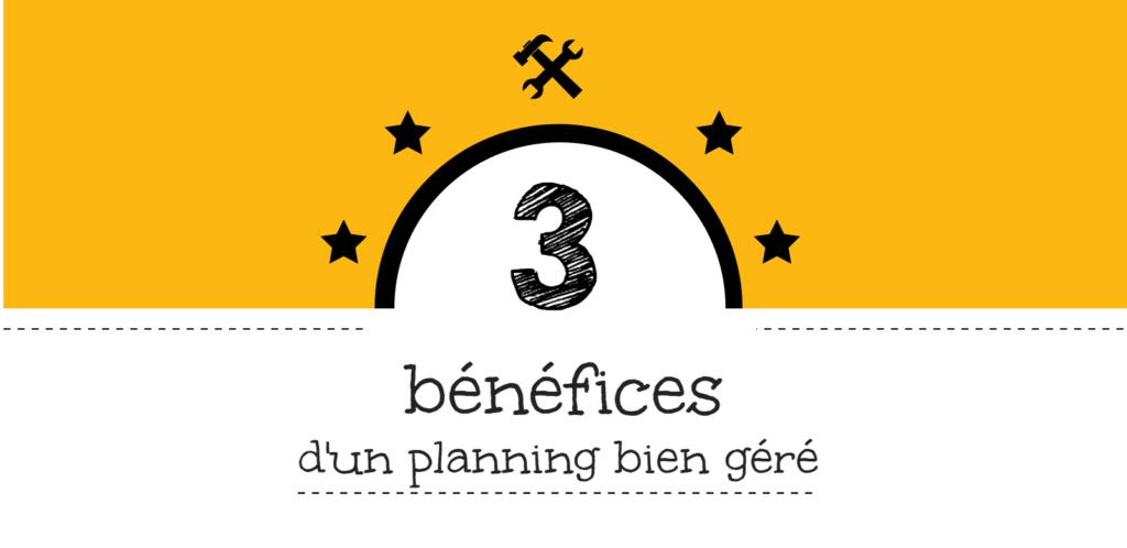 BTP 3 BENEFICES PLANNING BIEN GERE