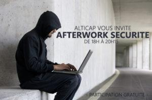 Participez à nos afterworki sécurité