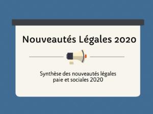 nouveautés légales 2020