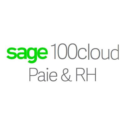 Logo Sage 100cloud Paie & RH