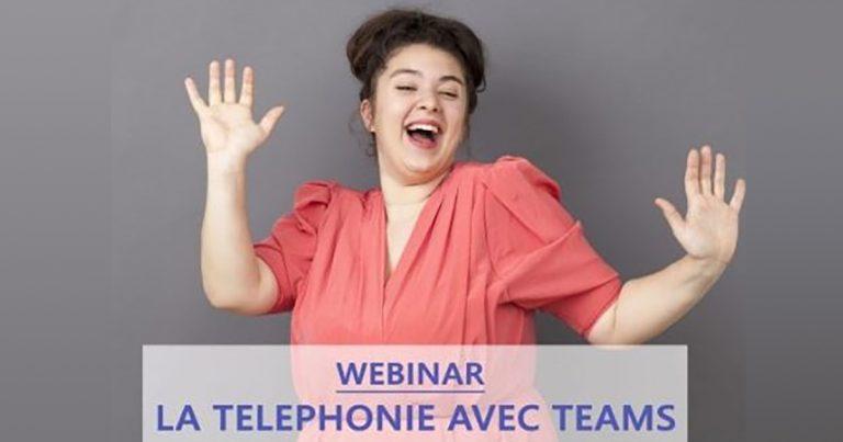 Vignette replay webinar la téléphonie avec teams