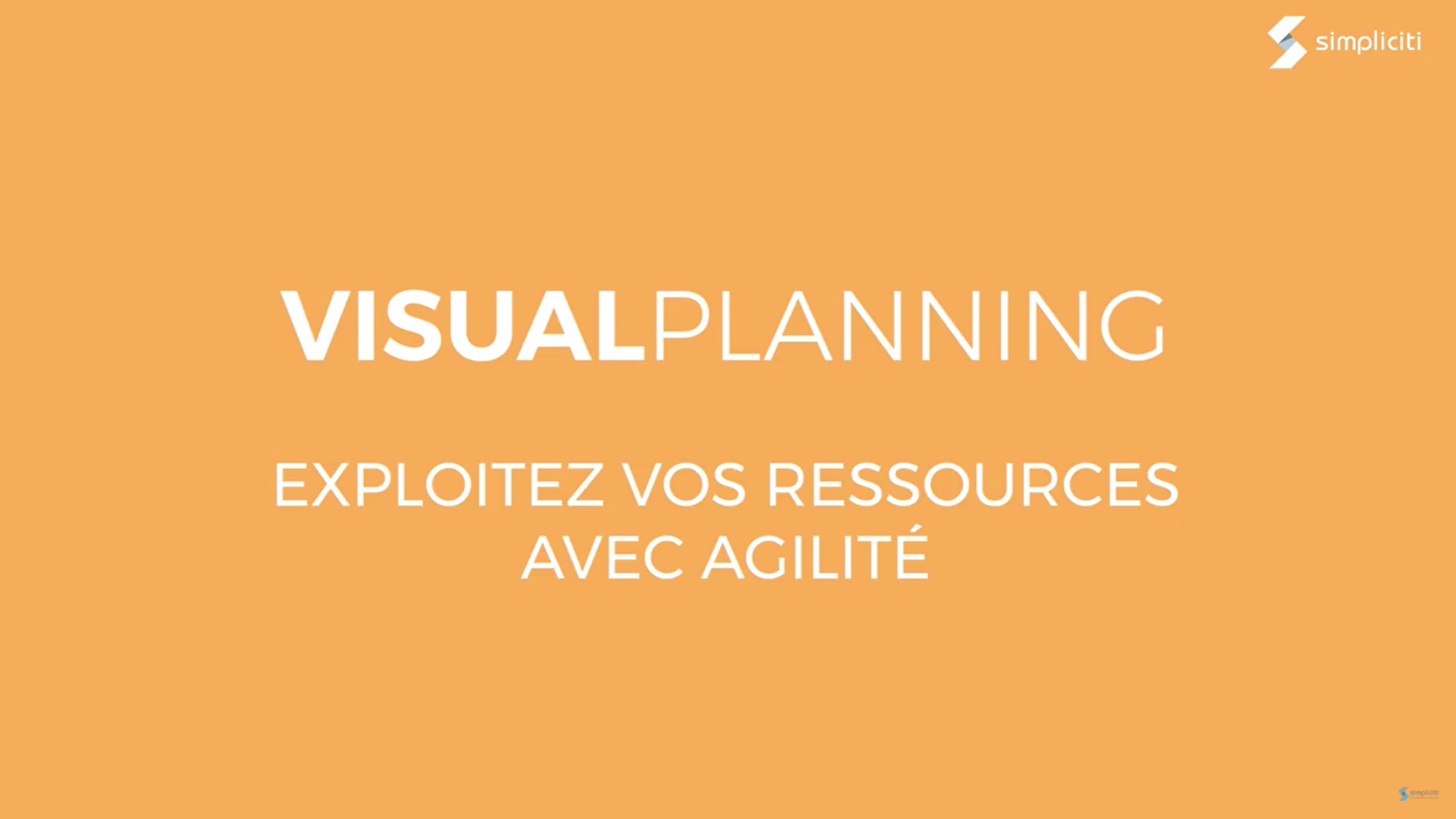 Vignette présentation vidéo Visual Planning
