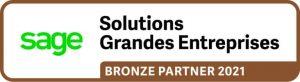 Logo solutions grandes entreprises partenaire bronze 2021