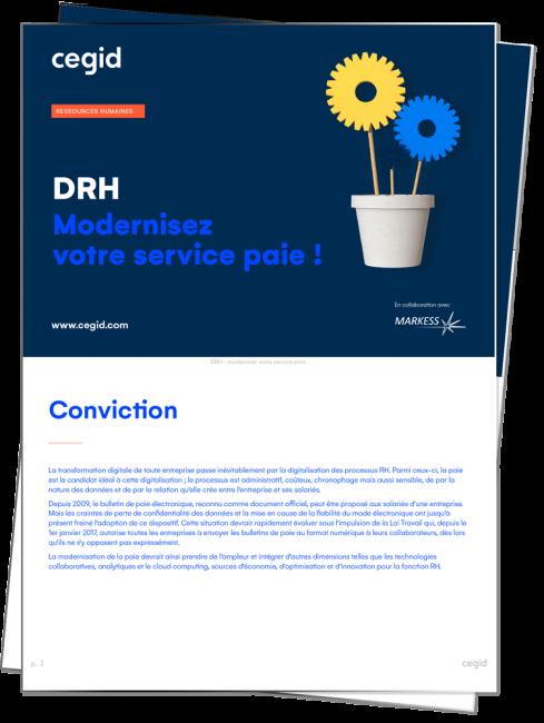 Apercu guide : drh, modernisez votre service paie